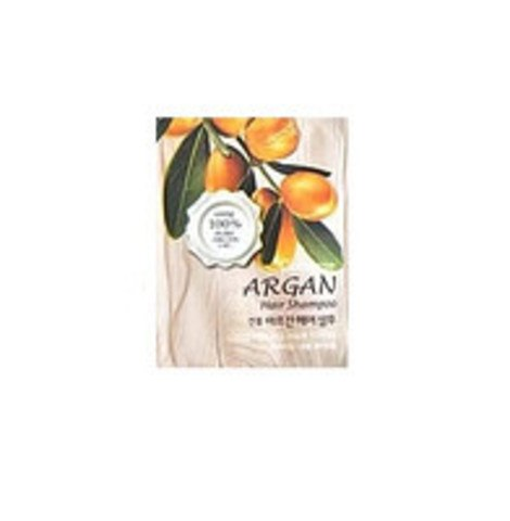 Шампунь для волос c маслом арганы пробник WELCOS Confume Argan Hair Shampoo Pouch