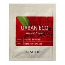Крем для лица с экстрактом телопеи пробник THE SAEM Urban Eco Waratah Cream Pouch 1мл