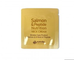 Крем для шеи с маслом лосося и пептидами Пробник EYENLIP Salmon & Peptide Nutrition Neck Cream 1.5мл