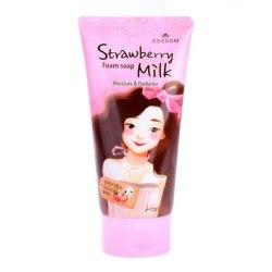 Пенка для умывания MUKUNGHWA Strawberry Milk Foam Soap 150мл