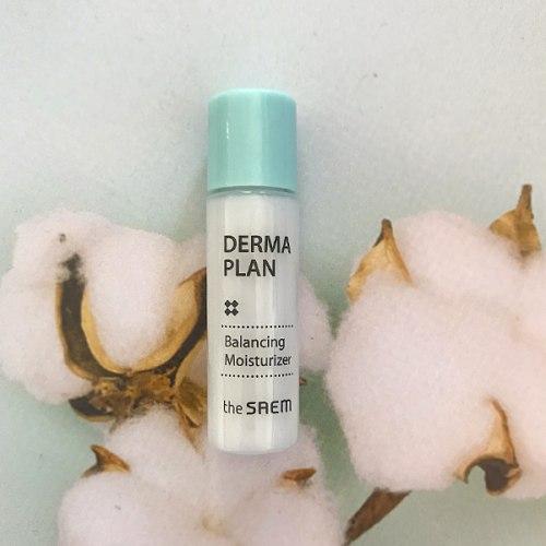 Лосьон увлажняющий для чувствительной кожи пробник THE SAEM DERMA PLAN Balancing Moisturizer 5ml