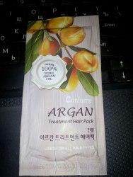 Восстанавливающая маска с маслом арганы. Пробник WELCOS CONFUME Argan Treatment Hair Pack Sample