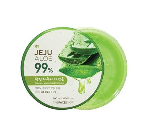 Гель универсальный с экстрактом алоэ THE FACE SHOP Jeju Aloe Fresh Soothing Gel 300мл