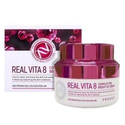 Крем питательный ENOUGH Real Vita 8 Complex Pro Bright up Cream 50мл