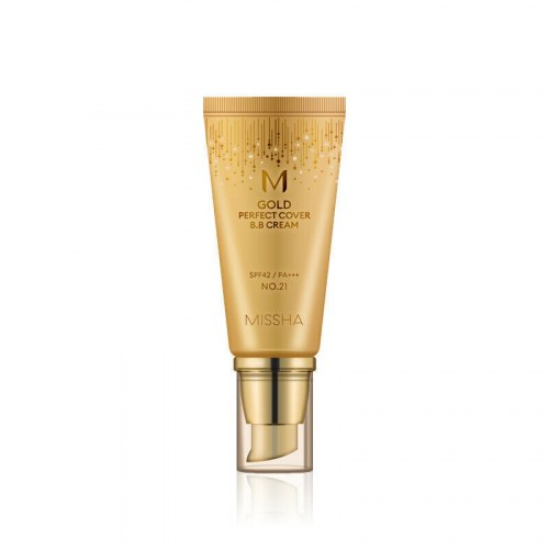 Бархатный ББ-крем MISSHA M Gold Perfect Cover B.B Cream SPF42/PA+++