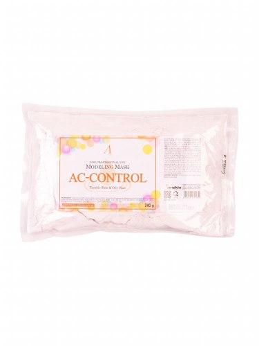 Маска альгинатная для проблемной кожи против акне ANSKIN AC Control Modeling Mask / Refill 240гр