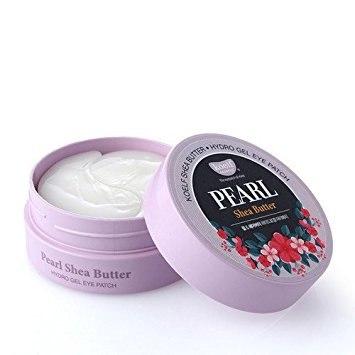 Гидрогелевые патчи для кожи вокруг глаз с жемчугом и маслом ши KOELF Pearl & Shea Butter Hydro Gel Eye Patch