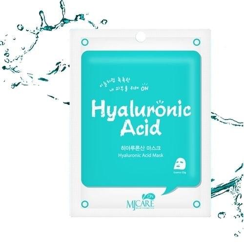 Маска для лица тканевая MIJIN MJ on Hyaluronic Acid mask pack 22гр