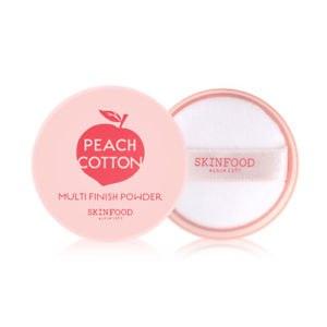 МАТИРУЮЩАЯ РАССЫПЧАТАЯ ПУДРА С ЭКСТРАКТОМ ПЕРСИКА SKINFOOD Peach Cotton Multi Finish Powder 5g