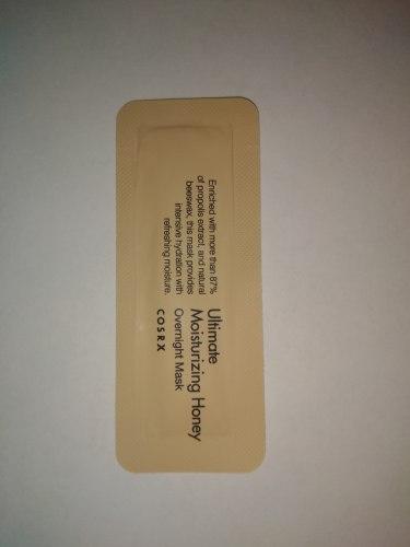 Маска-спа ночная питательная с медом пробник COSRX Ultimate Moisturizing Honey Overnight Mask sample 1,2мл