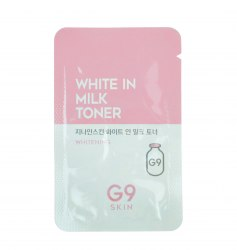 Тонер для лица осветляющий пробник BERRISOM G9 White In Milk Toner Sample Pouch 2мл