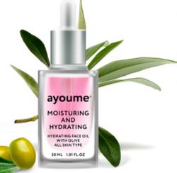 Масло для лица увлажняющее AYOUME Moisturing-&-Hydrating Face oil with Olive 30мл
