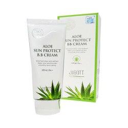 ВВ-крем с экстрактом алоэ SPF 41 PA++ JIGOTT Aloe Sun Protect BB Cream SPF 41 PA++