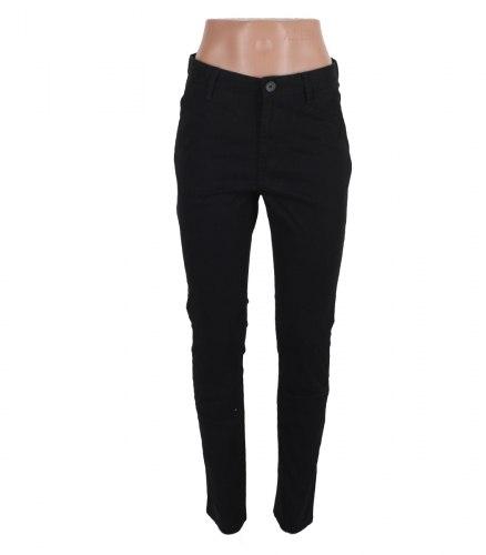 Черные хлопковые брюки H&M 12807