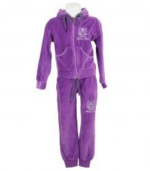 Велюровый спортивный костюм на девочку Fashion Girl 12877