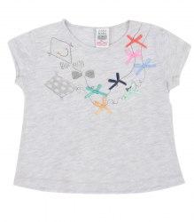 Серая футболка с воздушным змеем Zara 12912
