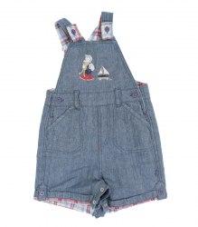 Летний джинсовый комбинезон на малыша Mothercare 12938