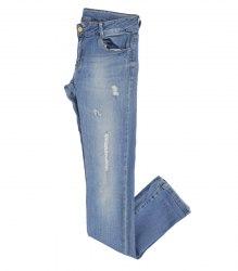 Рваные голубые джинсы на девочку Zara 13097