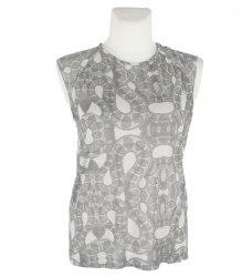 Серая блуза-безрукавка Zara 13234