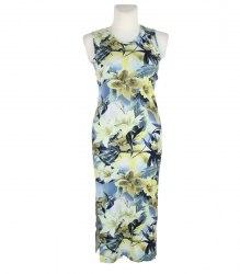 Длинное трикотажное платье с разрезами по бокам Betri 13260
