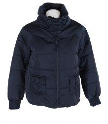 Синяя стеганная куртка на девочку Conbipel 13351