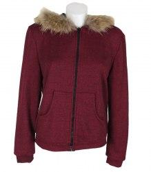 Трикотажная кофта-куртка с капюшоном Elena Pokalitsina 13480
