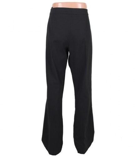 Черные слегка расклешенные классические брюки Red Hot 3062