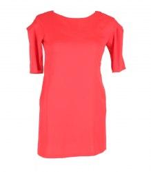 Ярко-красное трикотажное платье Say 13591