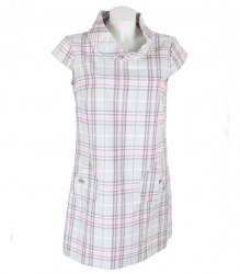 Короткое платье в крупную клетку Oodji 13593