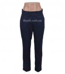 Синие брюки со стрелками Glem 14060