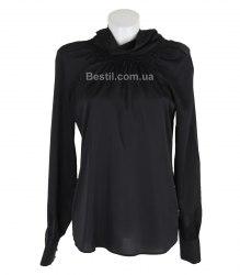 Черная блуза с длинным рукавом Park Bravo 14247