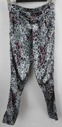 Серебристые брюки с леопардовым принтом Dolce&Gabbana 3200