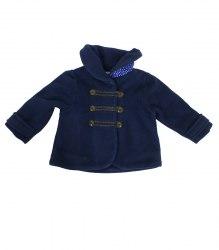 Синее пальтишко на малышку Next 14591
