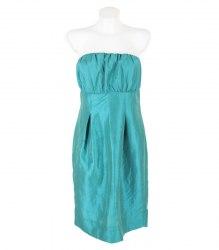 Изумрудное платье-бандо Reflex 14692