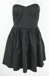 Черное коктейльное платье Miss Real 3281