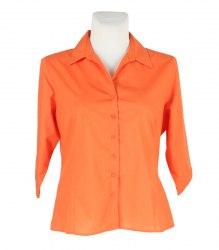 Оранжевая блуза рубашечного кроя Simon Jersey 14925