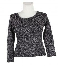 Вязаный рябой пуловер Just woman 14959