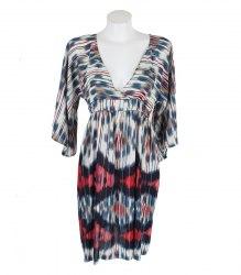 Пестрое платье в полоску Zara 14994
