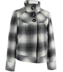 Клетчатый пиджак-куртка Select 3323
