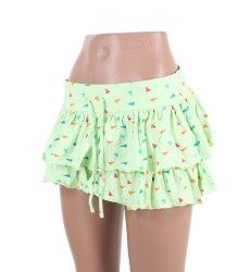 Летняя трикотажная юбка с оборками Denim Co 15276