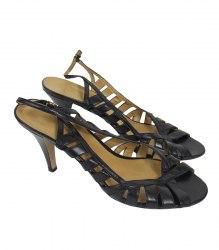 Черные босоножки на каблуке Bandolino 15317