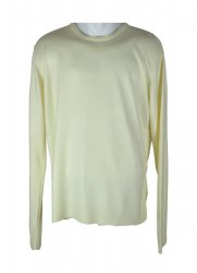 Молочно-лимонный трикотажный пуловер Topman 4600