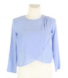 Сиреневая блуза с длинным рукавом H&M 15586