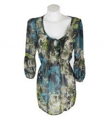Шифоновая блуза с длинным рукавом Soon 15628