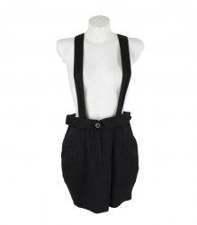 Черная юбка на бретелях SisterS Point 15812