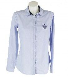 Рубашка в полоску с длинным рукавом O'STIN 15842
