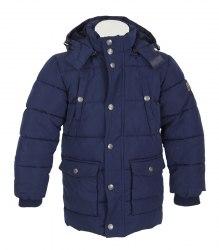 Темно-синяя зимняя куртка на мальчика Primigi 16148