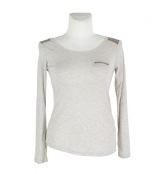 Меланжевый трикотажный пуловер Bershka 16662