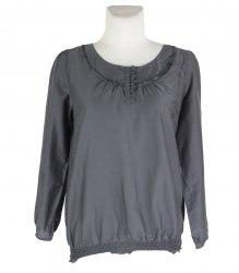 Серая блуза с длинным рукавом S.Oliver 16763