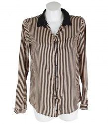 Блуза рубашечного кроя в полоску Pull&Bear 16764